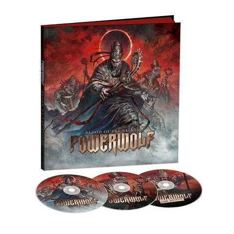 Blood Of The Saints (10th Anniversary Edition) - Ltd. Earbook by Powerwolf - Earbook - shop now at Powerwolf store
