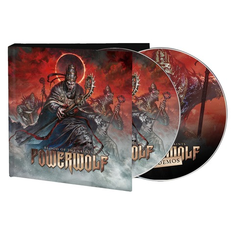 Blood Of The Saints (10th Anniversary Edition) by Powerwolf - Digibook 2CD - shop now at Powerwolf store