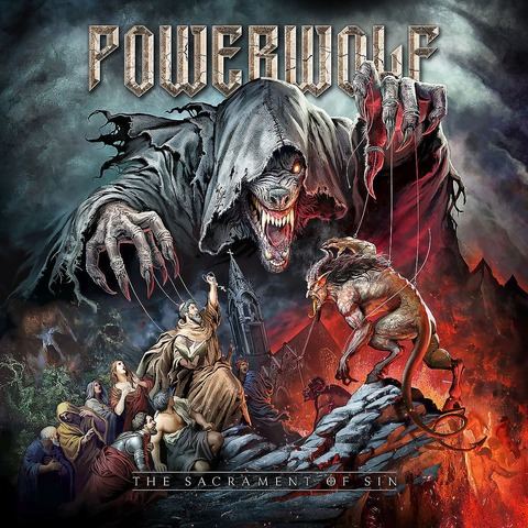 √The Sacrament of Sin von Powerwolf - CD jetzt im Powerwolf Shop