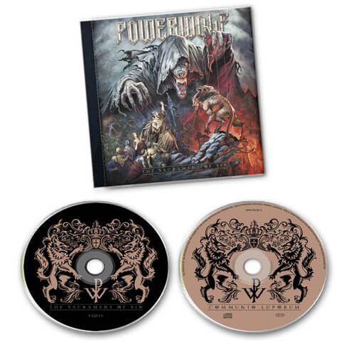 √The Sacrament of Sin (2CD) von Powerwolf - 2CD jetzt im Powerwolf Shop