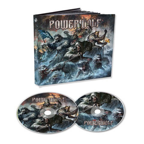 √Best Of The Blessed (Ltd. 2CD Mediabook) von Powerwolf - 2CD jetzt im Powerwolf Shop