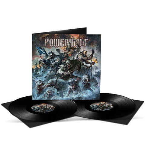 √Best Of The Blessed von Powerwolf - 2LP jetzt im Powerwolf Shop