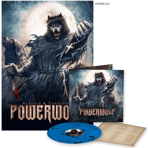 √Blessed & Possessed (Marbled LP + Poster) von Powerwolf -  jetzt im Powerwolf Shop