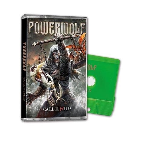 √Call Of The Wild (Ltd. Green MC) von Powerwolf - MC jetzt im Powerwolf Shop