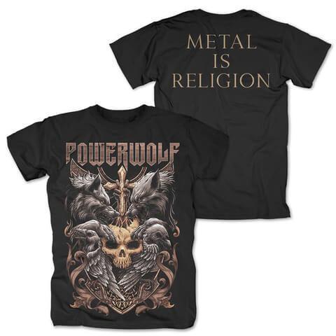 √Wolves & Ravens von Powerwolf - T-Shirt jetzt im Powerwolf Shop