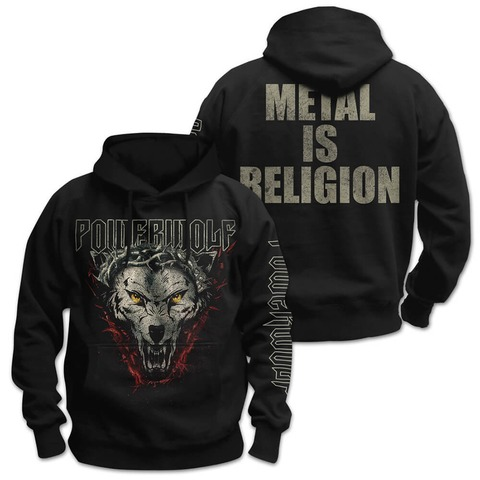 √Metal Is Religion von Powerwolf - Hood sweater jetzt im Powerwolf Shop