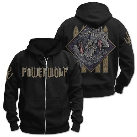 √Wolf Sign von Powerwolf - Hooded jacket jetzt im Powerwolf Shop