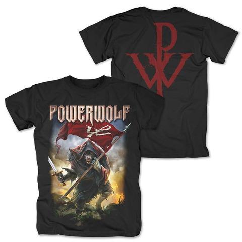 √Wolf Warrior von Powerwolf - T-Shirt jetzt im Powerwolf Shop