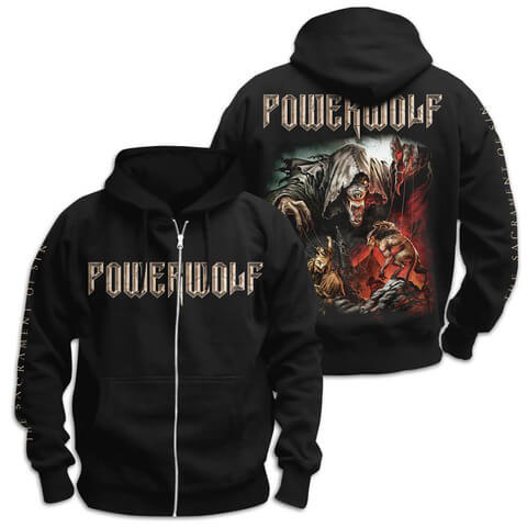 The Sacrament Of Sin von Powerwolf - Kapuzenjacke jetzt im Powerwolf Shop