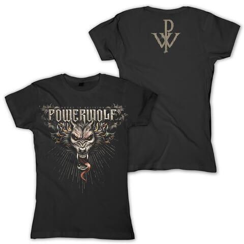 √Dracul Wolf von Powerwolf - Girlie Shirt jetzt im Powerwolf Shop