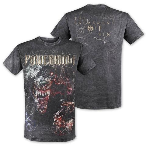 √TSOS - Wolf von Powerwolf - T-Shirt jetzt im Powerwolf Shop