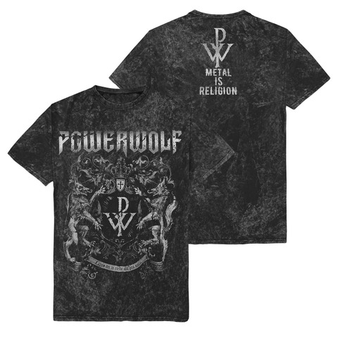 Metal Is Religion - Crest von Powerwolf - T-Shirt jetzt im Powerwolf Shop