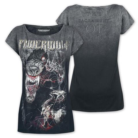 √TSOS - Wolf von Powerwolf - Girlie Shirt jetzt im Powerwolf Shop
