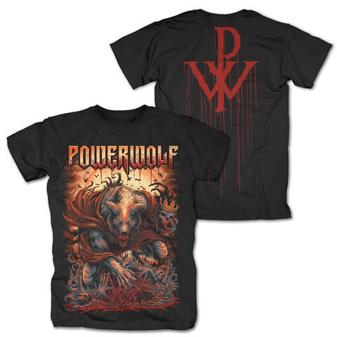 √Blessed von Powerwolf - T-Shirt jetzt im Powerwolf Shop