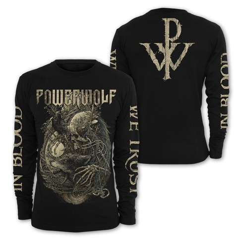 √In Blood We Trust von Powerwolf - Long-sleeve jetzt im Powerwolf Shop