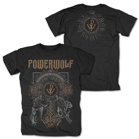 √Wolf Cross von Powerwolf - T-Shirt jetzt im Powerwolf Shop