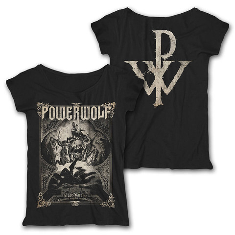 √Vade Satana von Powerwolf - Girlie Loose Fit Shirt jetzt im Powerwolf Shop
