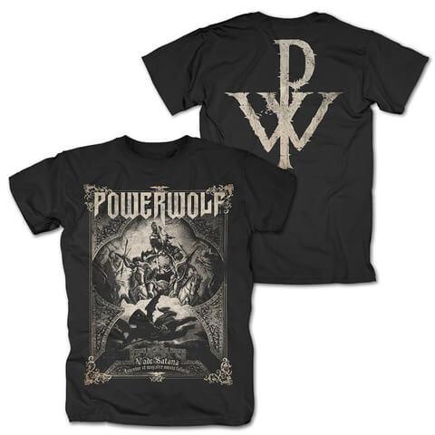 √Vada Satana von Powerwolf - T-Shirt jetzt im Powerwolf Shop
