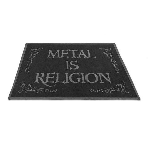 √Metal Is Religion von Powerwolf - Floor mat jetzt im Powerwolf Shop