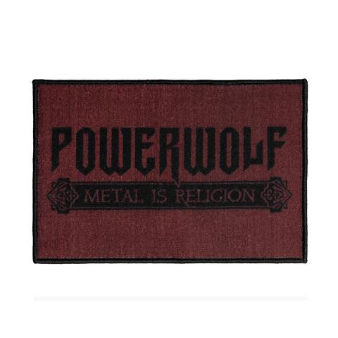 √Powerwolf Logo von Powerwolf - Floor mat jetzt im Powerwolf Shop