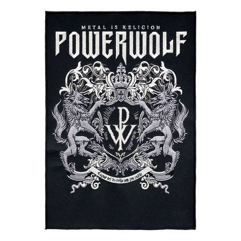 √Powerwolf Crest von Powerwolf - Backpatch jetzt im Powerwolf Shop