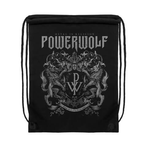 √Powerwolf Crest von Powerwolf - Gym Bag jetzt im Powerwolf Shop