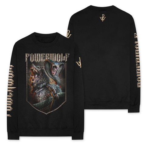 Kiss Of The Cobra King von Powerwolf - Longsleeve jetzt im Powerwolf Shop