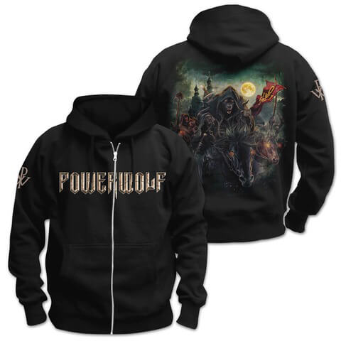 √Metal Mass von Powerwolf - Hooded jacket jetzt im Powerwolf Shop