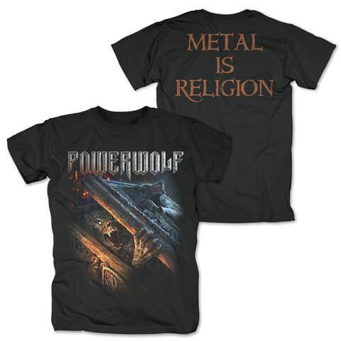 √Zombie Wolf von Powerwolf - T-Shirt jetzt im Powerwolf Shop