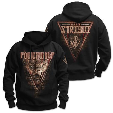 √Armata Strigoi von Powerwolf - Hood sweater jetzt im Powerwolf Shop
