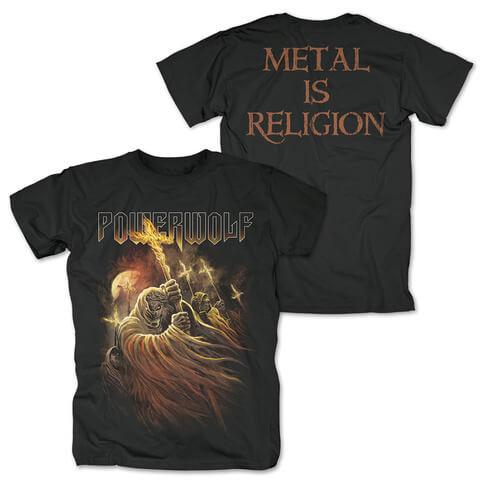 √Kreuzfeuer von Powerwolf - T-Shirt jetzt im Powerwolf Shop