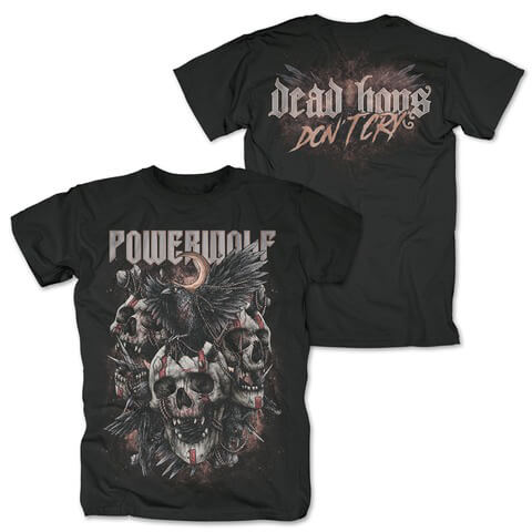 √Dead Boys Dont Cry von Powerwolf - T-Shirt jetzt im Powerwolf Shop