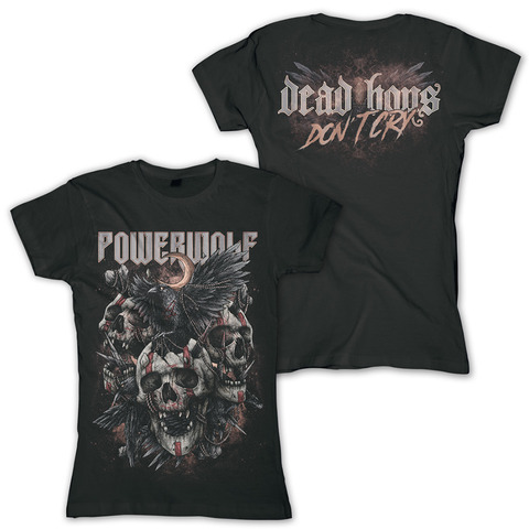 √Dead Boys Don't Cry von Powerwolf - Girlie Shirt jetzt im Powerwolf Shop