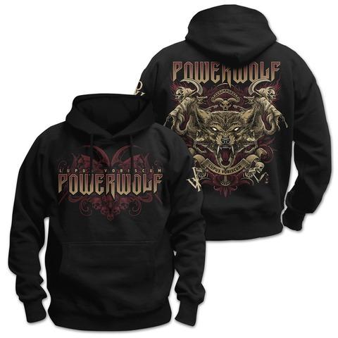 √Lupus Vobiscum von Powerwolf - Hood sweater jetzt im Powerwolf Shop