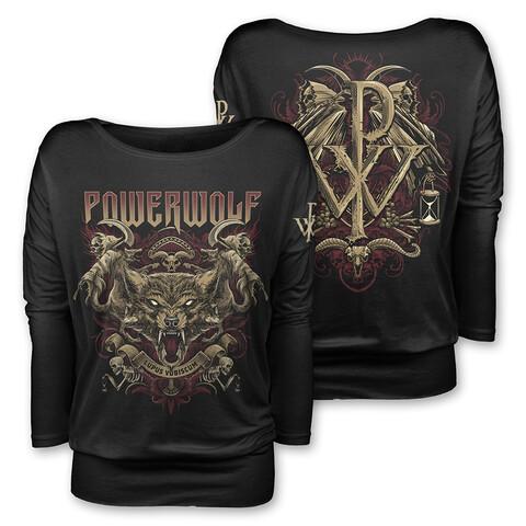 √Lupus Vobiscum von Powerwolf - Girlie long-sleeve jetzt im Powerwolf Shop