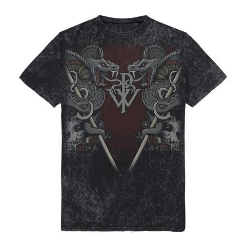 √Cobra Allover von Powerwolf - T-Shirt jetzt im Powerwolf Shop