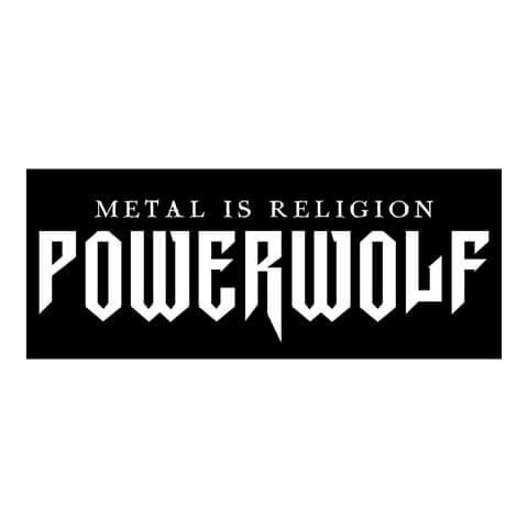 √Powerwolf Logo Sticker von Powerwolf - Sticker jetzt im Powerwolf Shop