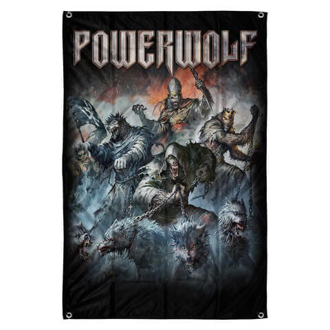 √Best Of The Blessed Art von Powerwolf - Flag jetzt im Powerwolf Shop