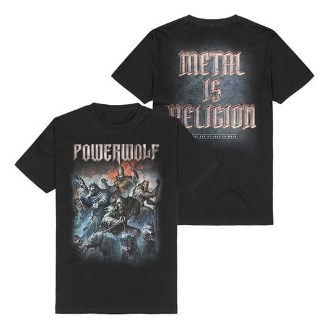 √Best Of The Blessed Art von Powerwolf - T-Shirt jetzt im Powerwolf Shop