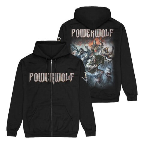 Best Of The Blessed Art von Powerwolf - Kapuzenjacke jetzt im Powerwolf Shop