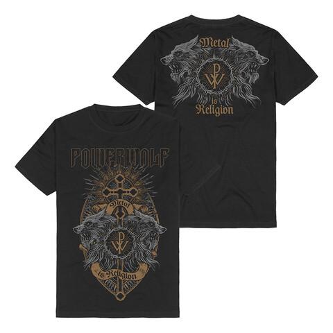 Crest Wolves von Powerwolf - T-Shirt jetzt im Powerwolf Shop
