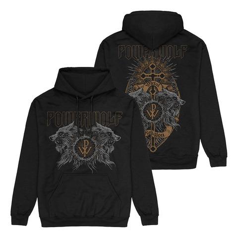 √Crest Wolves von Powerwolf - Hood sweater jetzt im Powerwolf Shop