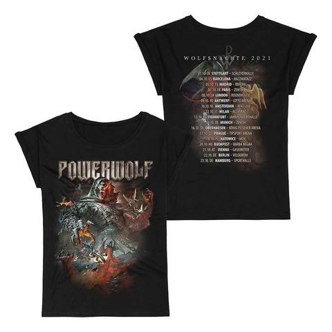 √Wolfsnächte 2021 von Powerwolf - Girlie Shirt jetzt im Powerwolf Shop