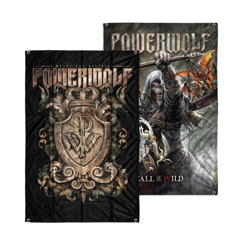 Call Of The Wild / Crest by Powerwolf - reverse flag - shop now at Powerwolf store