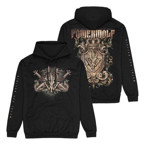 √Metal Est Religio Crest von Powerwolf - Hood sweater jetzt im Powerwolf Shop