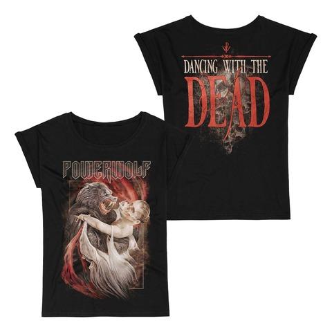 √Dancing With The Dead von Powerwolf - Girlie Shirt with Roll Up jetzt im Powerwolf Shop