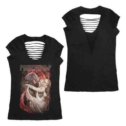 √Dancing With The Dead von Powerwolf - Girlie Shirt Cut Back jetzt im Powerwolf Shop