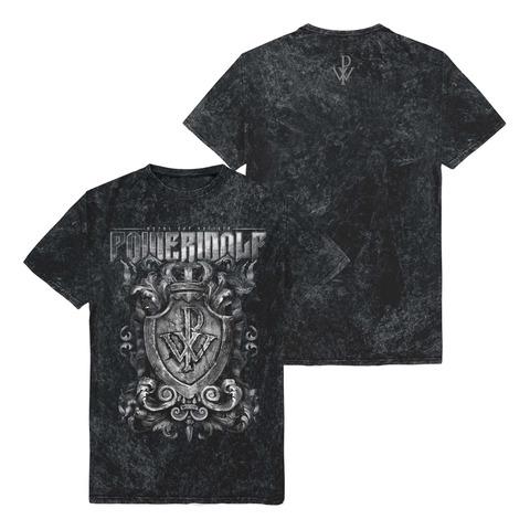 Crest Vintage Tee by Powerwolf - t-shirt - shop now at Powerwolf store