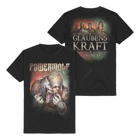 Glaubenskraft by Powerwolf - t-shirt - shop now at Powerwolf store