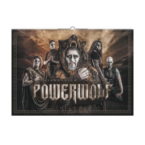 MMXXII by Powerwolf - Wall calendar - shop now at Powerwolf store